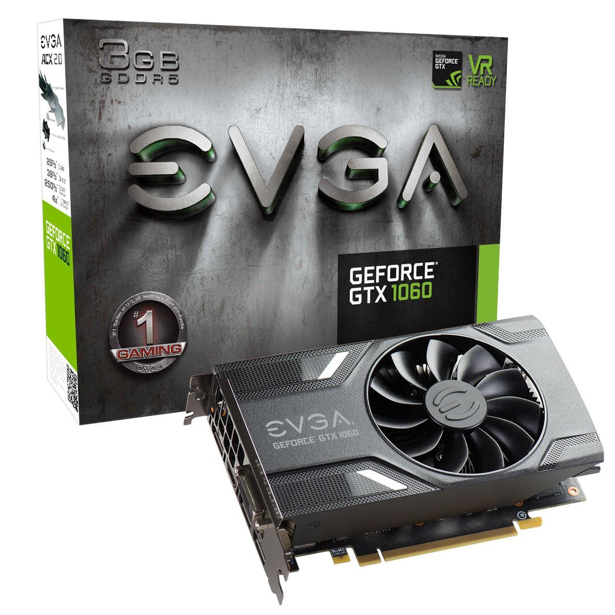 EVGA GeForce GTX 1060 3GB GeForce 1000 Series