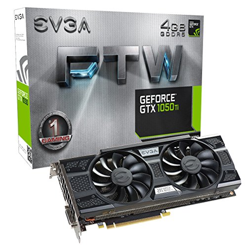 EVGA GeForce GTX 1050 Ti 4GB FTW Gaming