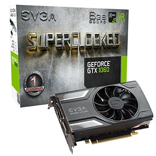 EVGA GeForce GTX 1060 6GB SC Gaming