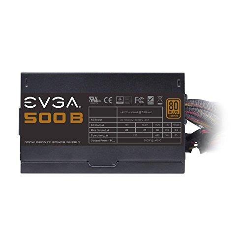 EVGA 100-B1-0500-KR 500W Certificado 80+ Bronze  ATX12V / EPS12V