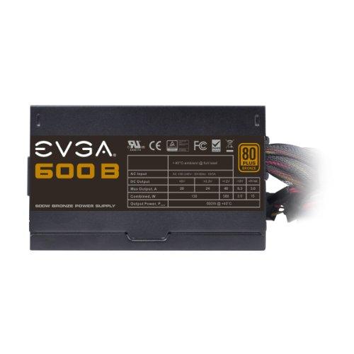 EVGA 100-B1-0600-KR 600W Certificado 80+ Bronze  ATX12V / EPS12V