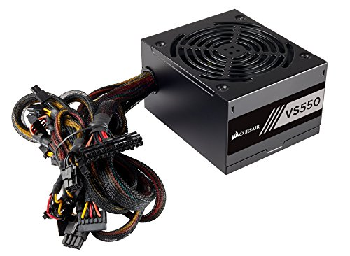 Corsair 550W 80 Plus White VS550 550W Certificado 80+  ATX12V / EPS12V