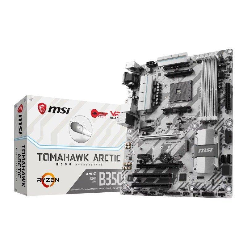 MSI B350 TOMAHAWK ARCTIC ATX AM4