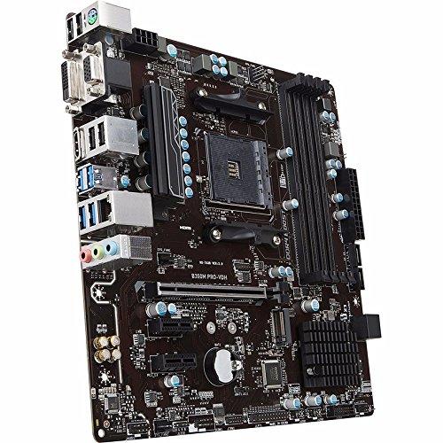 MSI B350M PRO-VDH Micro ATX AM4