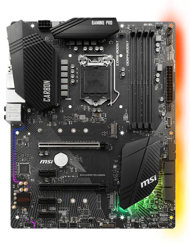 MSI B360 GAMING PRO CARBON ATX LGA 1151