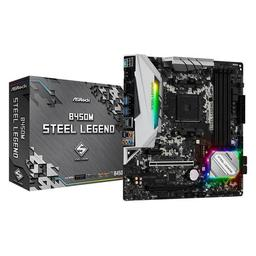 ASRock B450M Steel Legend Micro ATX AM4