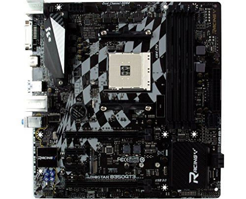Biostar Racing B350GT3 DDR4 Micro ATX AM4