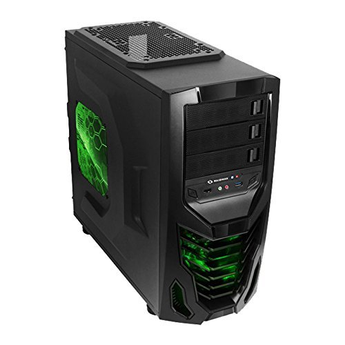 Raidmax Cobra 502WBG ATX Mid Tower (Preto)