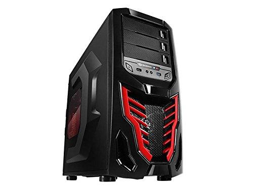 Raidmax Cobra Z ATX Mid Tower (Preto / Vermelho)