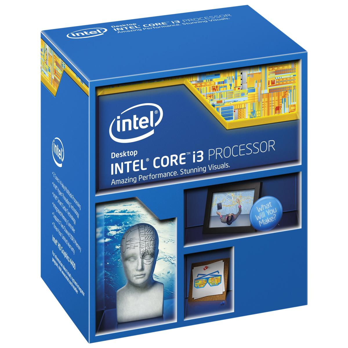 Intel Core i3-4170 3.7GHz Dual-Core