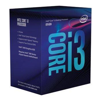 Intel Core i3-8100 3.6GHz Quad-Core