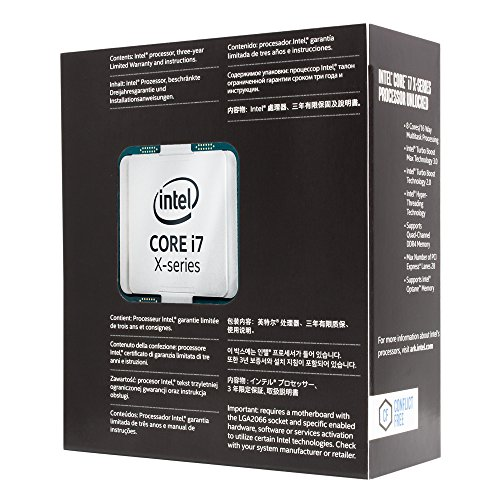Intel Core i7-7740X 4.3GHz Quad-Core