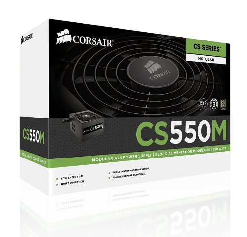 Corsair CS550M 550W Certificado 80+ Gold Modular ATX12V / EPS12V