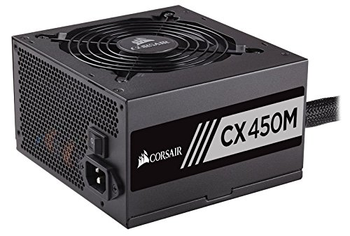 Corsair CX450M 450W Certificado 80+ Bronze Semi ATX