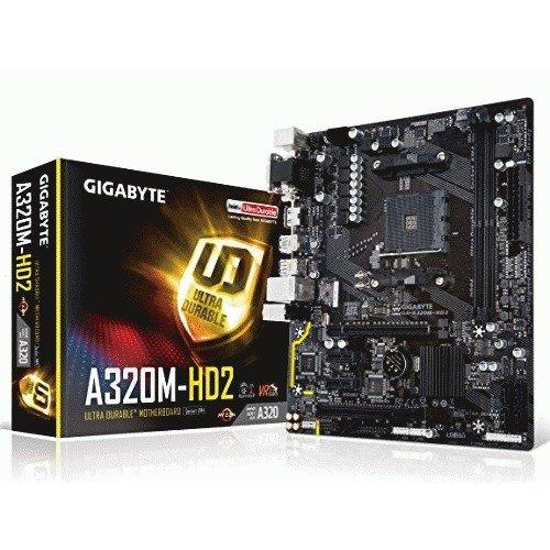 Gigabyte GA-A320M-HD2 Micro ATX AM4