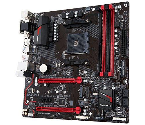 Gigabyte GA-AB350M-Gaming 3 Micro ATX AM4