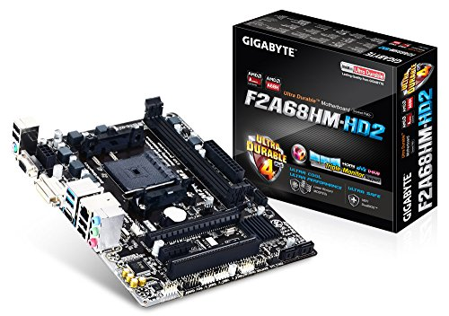 Gigabyte GA-F2A68HM-HD2 Micro ATX FM2+