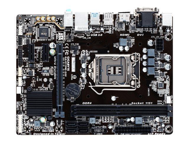 Gigabyte GA-H110M-S2H Micro ATX LGA 1151
