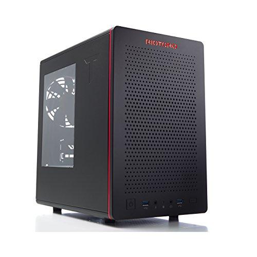 Riotoro Gaming Mini ITX Tower (Preto)