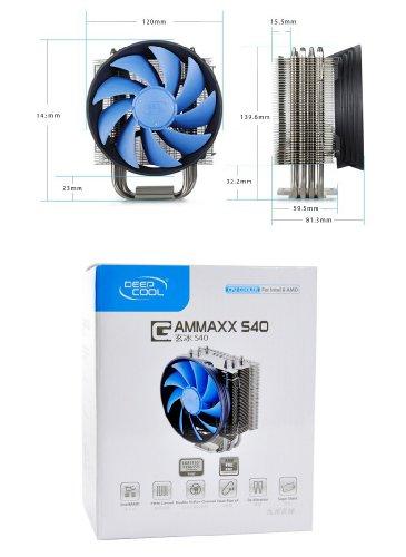 Deepcool GAMMAXX S40 Fluido Dinâmico