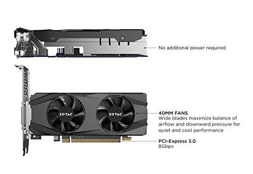 Zotac GeForce GTX 1050 Ti 4GB GeForce 1000 Series