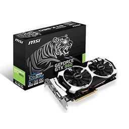 MSI GeForce GTX 960 2GB GeForce 900 Series