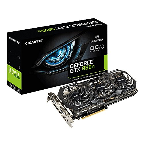 Gigabyte GeForce GTX 980 Ti 6GB GeForce 900 Series