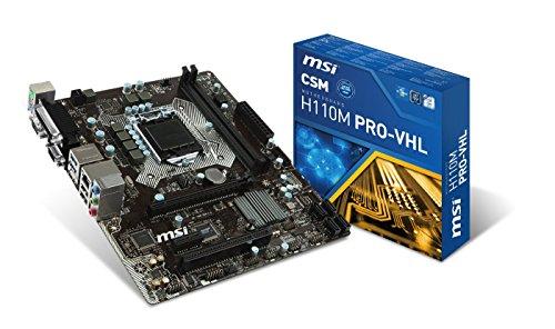 MSI H110M Pro-VHL Micro ATX LGA 1151
