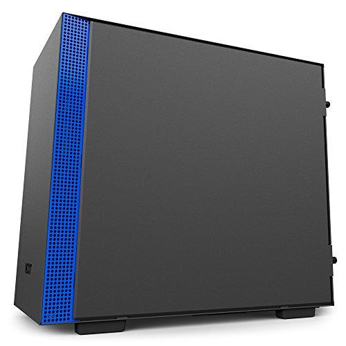 NZXT H200i ATX Mini ITX Mini ITX Tower (Preto / Azul)