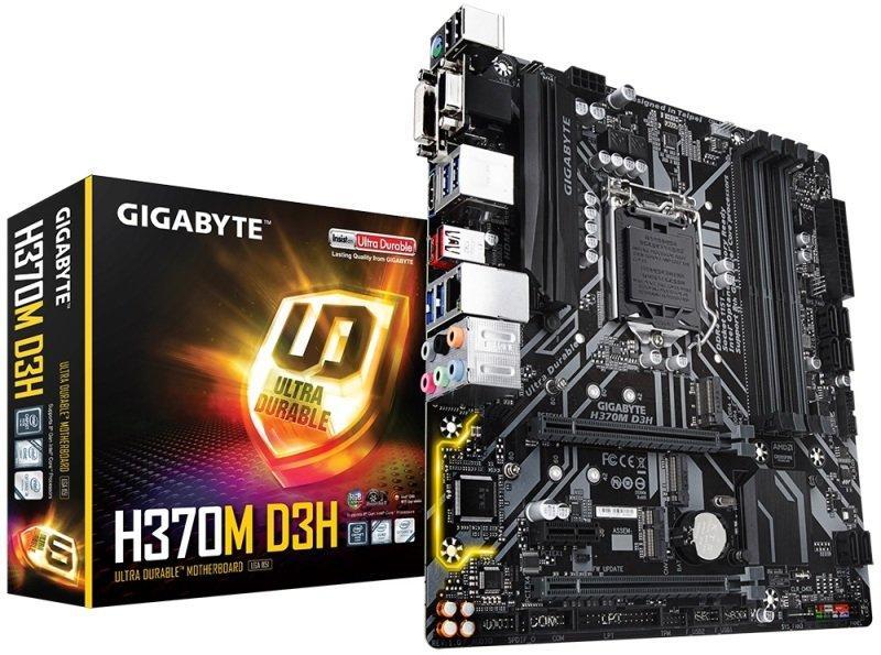 Gigabyte H370M D3H ATX LGA 1151