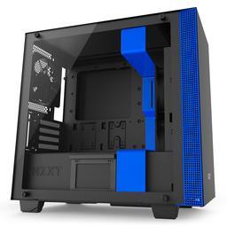 NZXT H400i MicroATX Mini Tower MicroATX Mini Tower (Preto / Azul)