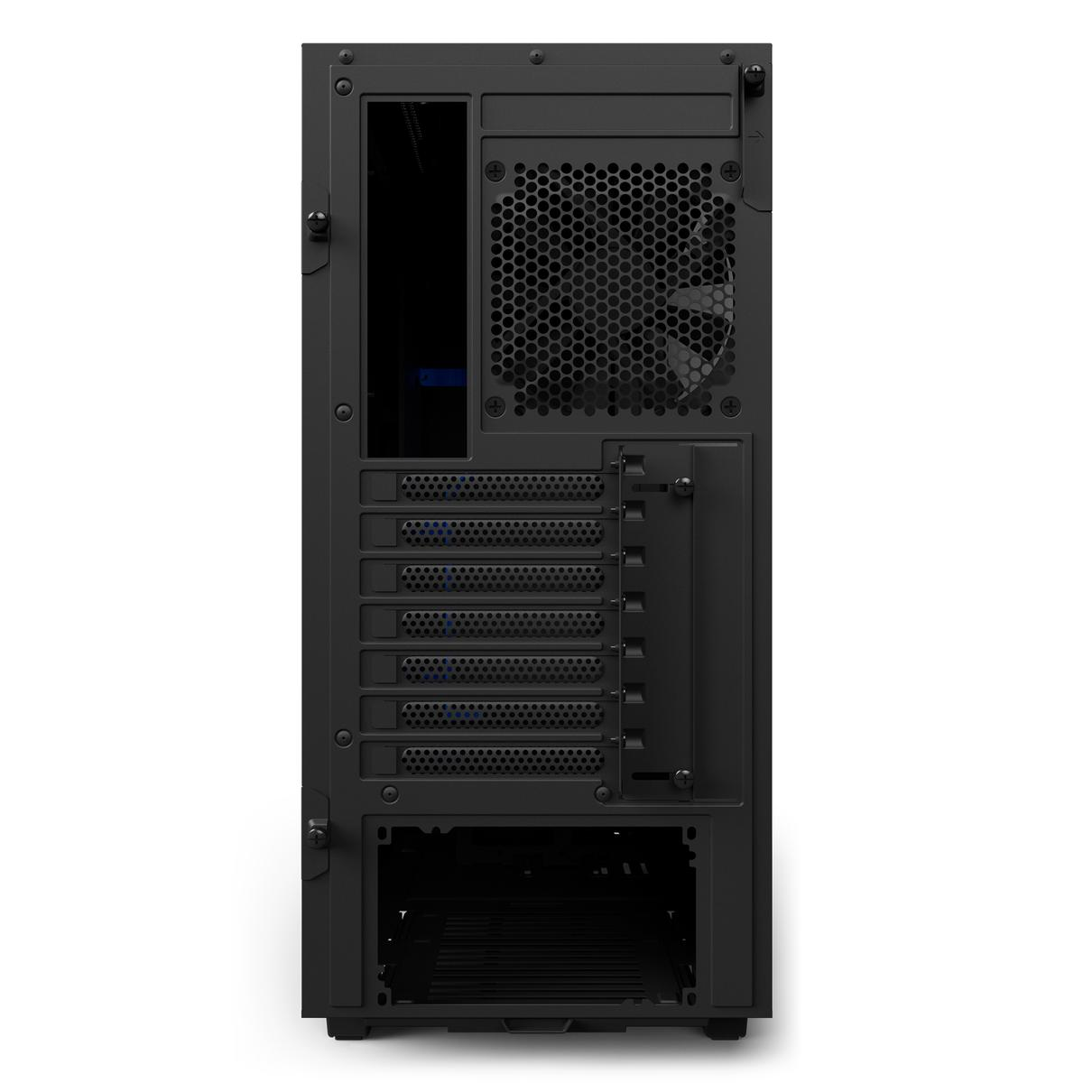 NZXT H500 Mid Tower ATX Mid Tower (Preto / Azul)