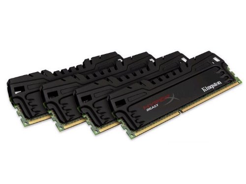 Kingston HyperX Beast Black Series 16GB (4x4GB) DDR3-1600