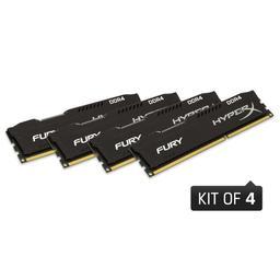Kingston HyperX Fury Black Series 16GB (4x4GB) DDR4-2666