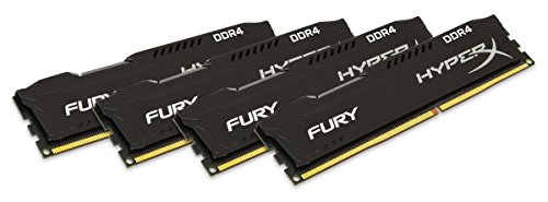 Kingston HyperX Fury Black Series 64GB (4x16GB) DDR4-2400