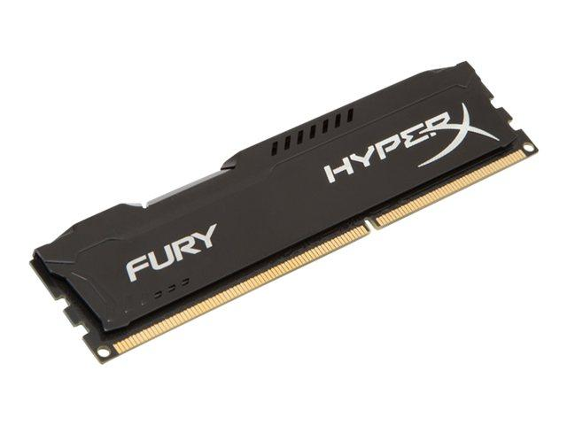 Kingston HyperX Fury Black Series 4GB (1x4GB) DDR3-1600