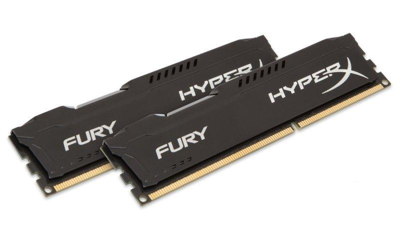 Kingston HyperX Fury Black Series 16GB (2x8GB) DDR3-1866
