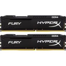 Kingston HyperX Fury Black Series 16GB (2x8GB) DDR4-2666