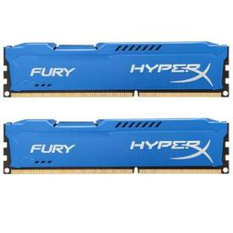 Kingston HyperX Fury Blue Series 16GB (2x8GB) DDR3-1866