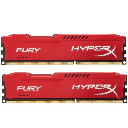 Kingston HyperX Fury Red Series 16GB (2x8GB) DDR3-1866