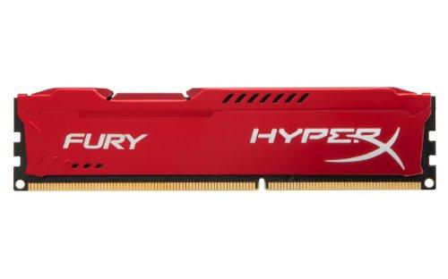 Kingston HyperX Fury Red Series 4GB (1x4GB) DDR3-1333