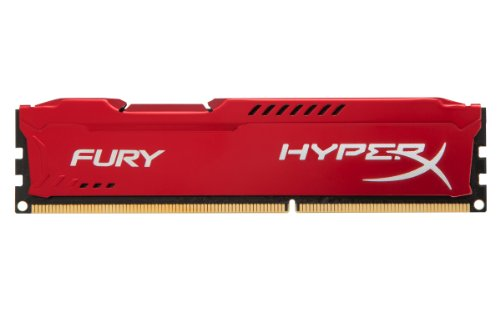 Kingston HyperX Fury Red Series 4GB (1x4GB) DDR3-1600
