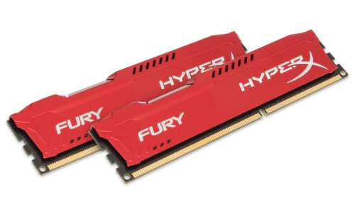Kingston HyperX Fury Red Series 16GB (2x8GB) DDR3-1333