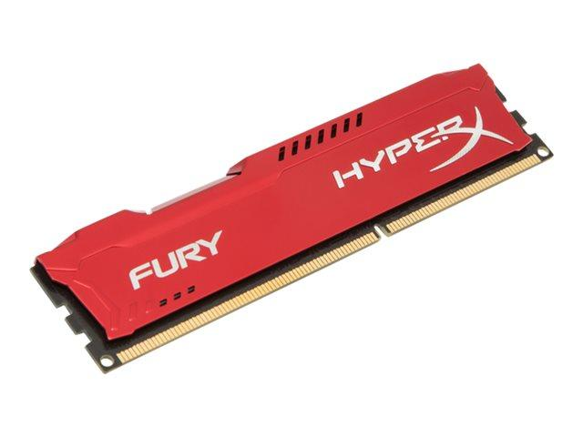 Kingston HyperX Fury Red Series 8GB (1x8GB) DDR3-1866