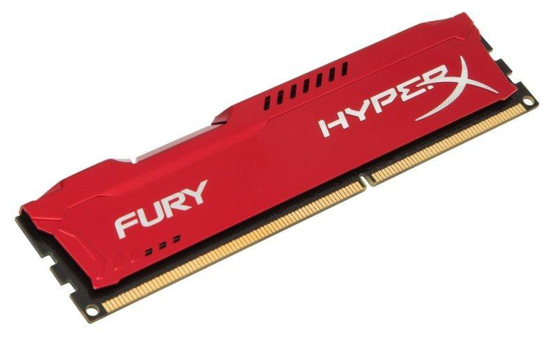 Kingston HyperX Fury Red Series 8GB (1x8GB) DDR3-1600