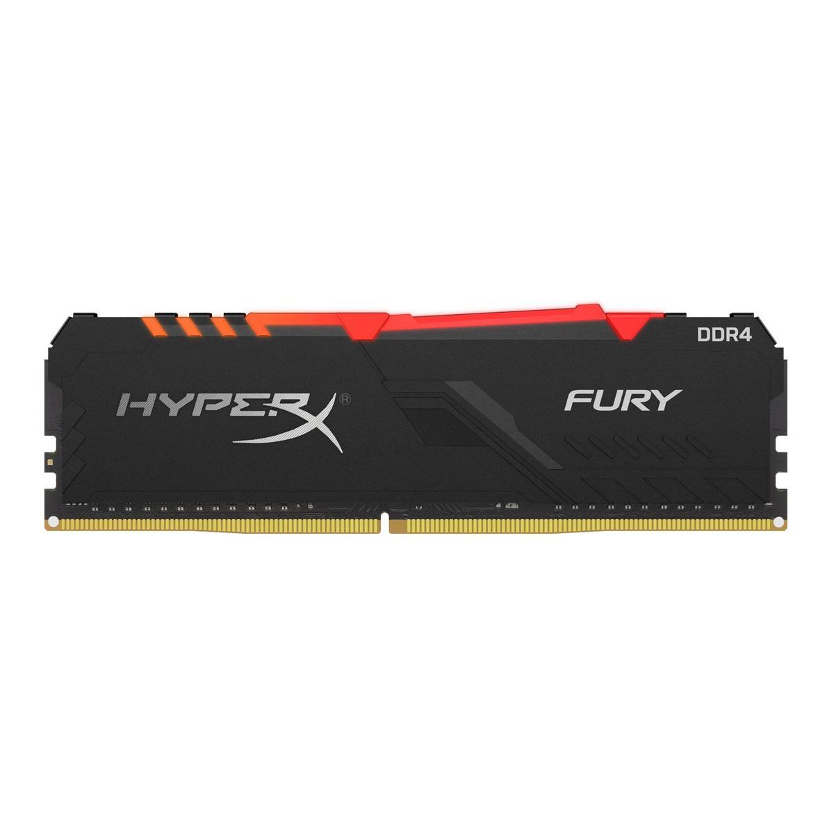 Kingston HyperX Fury RGB 16GB (1x16GB) DDR4-3200