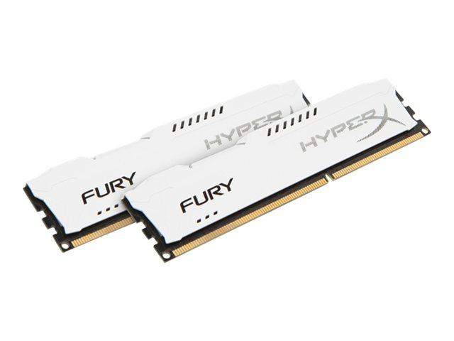 Kingston HyperX Fury White Series 8GB (2x4GB) DDR3-1600