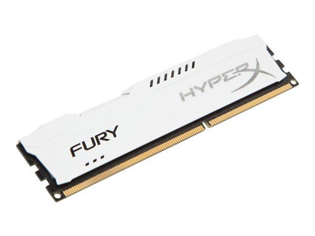 Kingston HyperX Fury White Series 4GB (1x4GB) DDR3-1333