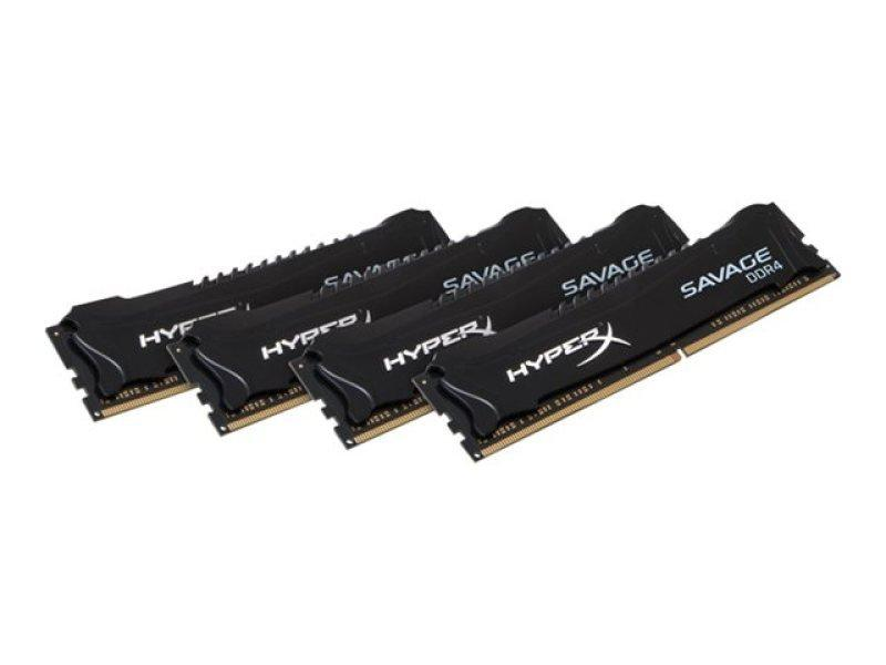 Kingston HyperX Savage Black Series 16GB (4x4GB) DDR4-2400