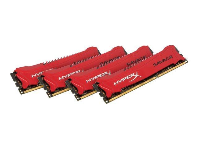 Kingston HyperX Savage Red Series 32GB (4x8GB) DDR3-2400